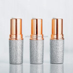 Wholesale high quality silver surface makeup private label lipstick