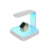Multifunction Wireless Charging UV Cell Phone Sterilizer disinfector Box ForJewelry & MakeupTool