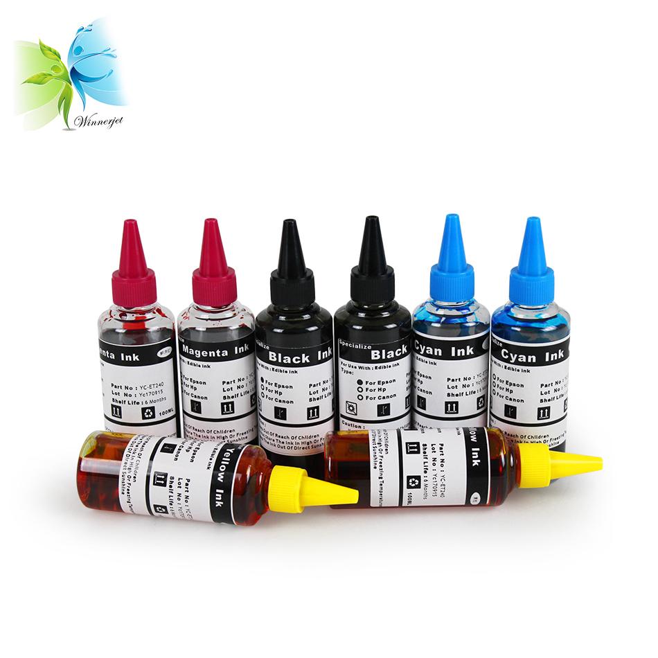 beste Qualität Universal-Edible Ink für HP für Canon Drucker für Epson-Food-Deko