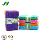 Factory Stocked Super Absorbent Bamboo Dish Fiber Kitchen Cleaning Sponge