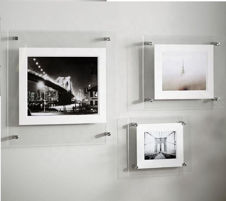 Фото в стекле на стену