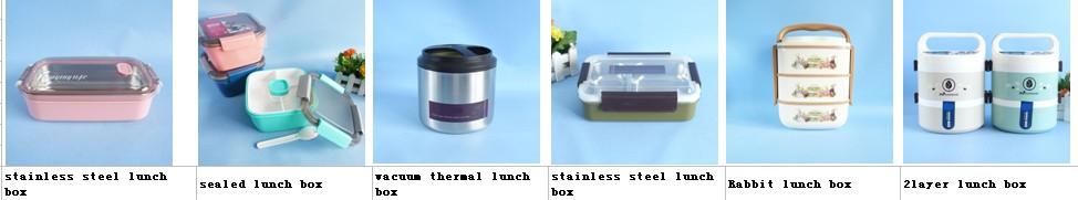 650ml 1-Schicht Edelstahl-Warmhalte-Lunchbox