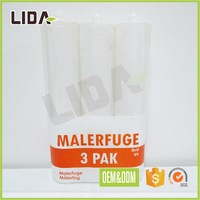 LD-PVCSL136 OEM PVC plastic film roll bottle packaging label printing