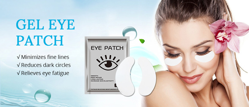 Direct factory price customized collagen anti-wrinkle eye gel patches hydrogel eye pads