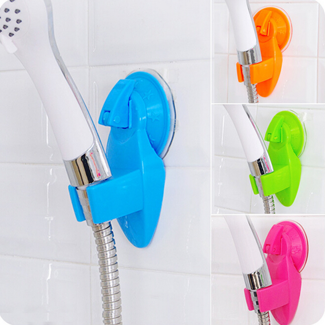 Home Bathroom Vacuum Holder Wall Suction Cup Wall Mount