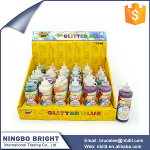 Cheap personalized water based glitter glue