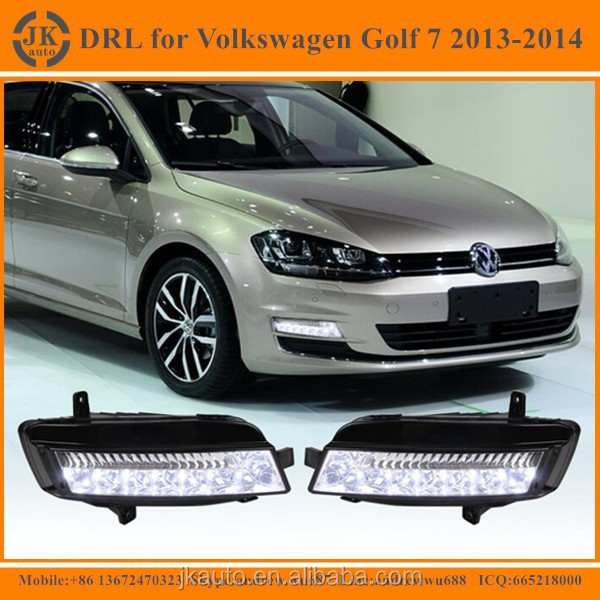 New Arrival High Power VW Golf 7 LED DRL Super Quality Daytime Running Light for Volkswagen VW Golf 7 2013-2014