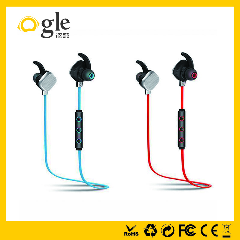 Stereo great sound quality magnet bluetooth headphone for mobile