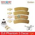 Golden Decals Stickers Phantom 1 2 3 Universal Housing Cover for DJI Phantom 3 Clothes