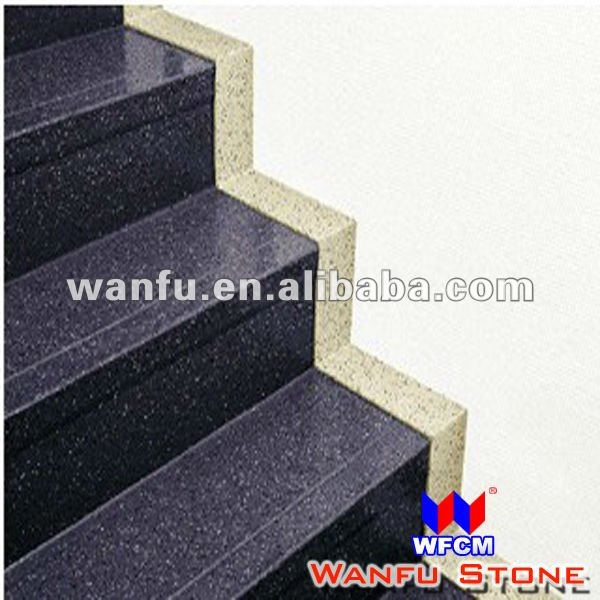 Popular Design Black Granite Stairs