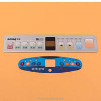 High Quality Cheap PVC Control Switch Panel Custom Adhesive Label