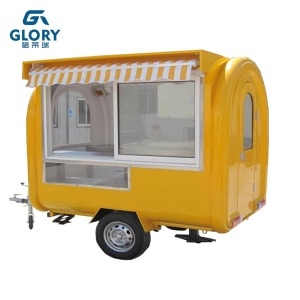 Professional Modern mobile fast food cart/bbq trailer for sale /hand push food cart for sale