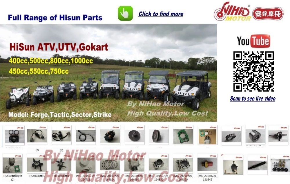107 HISUN ATV UTV  Parts Valve Rocker arm intak HS700 700 UTV Gokart Quad engines spare Nihao Motor