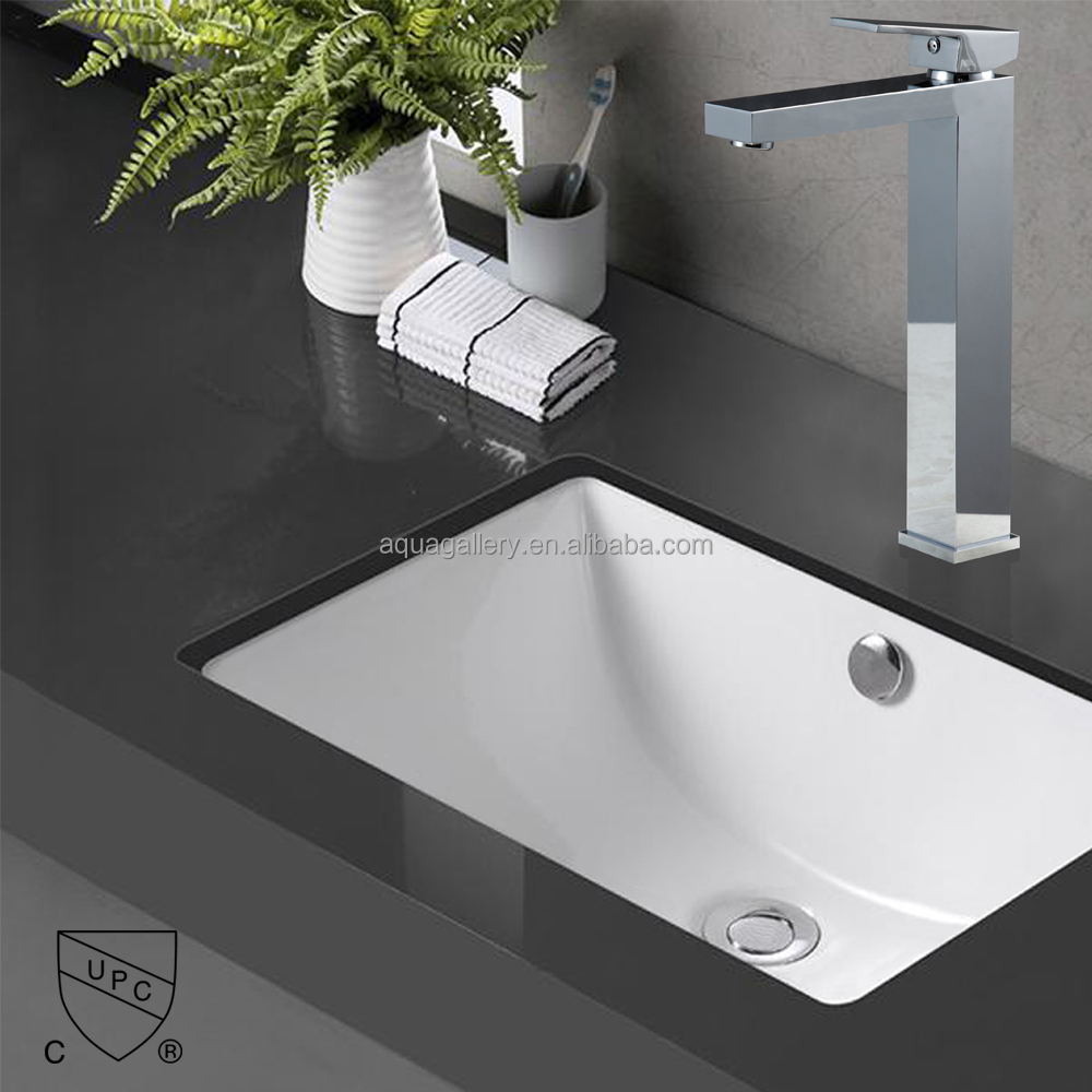 Lavatory Painting Ceramic Basin Faucet With UPC Certified