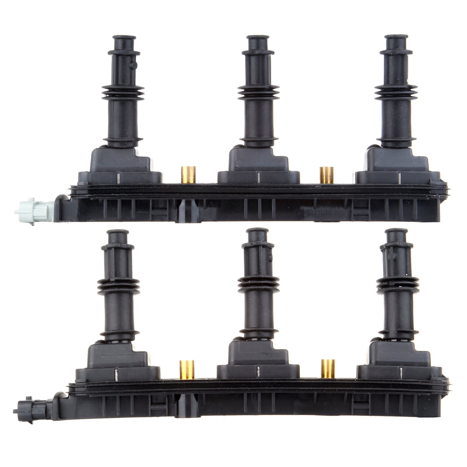 Ignition Spark Coil Packs Pair Set NEW for Cadillac Catera CTS Saturn Vue L