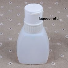 Nail Art Pump Dispenser Polish Remover Cleaner Empty Bottle Makeup Plastic