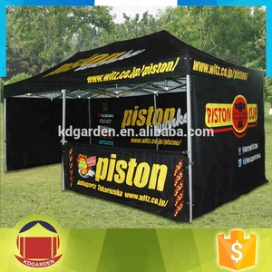Custom printed large folding canopy tent for outdoor event