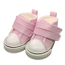 5pairs lot New Arrival Canvas Shoes For BJD Doll Mini Textile Doll Boots 1 6 Denim