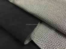2016 black and white waterproof hdpe woven fabric pp/ppe packing material fabric