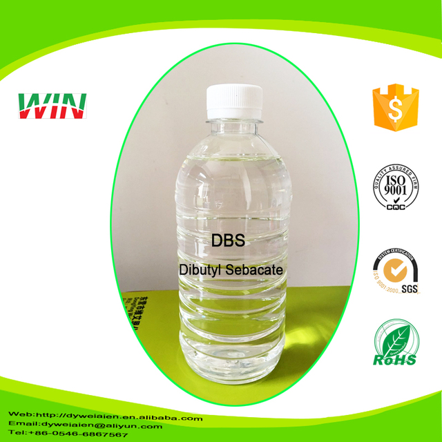 DBS China Supplier Decanedioic acid CAS 109-43-3 , cold resistance/high quality/DBS price