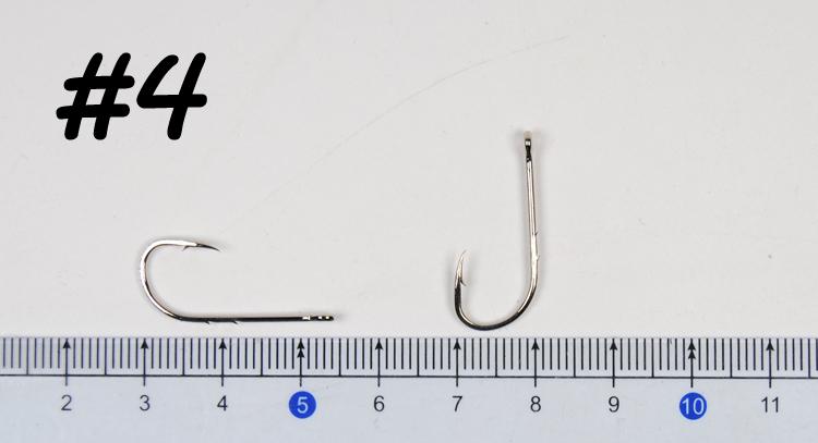 2019 High Carbon Steel Barbed Fish Hook Baitholder Fishing