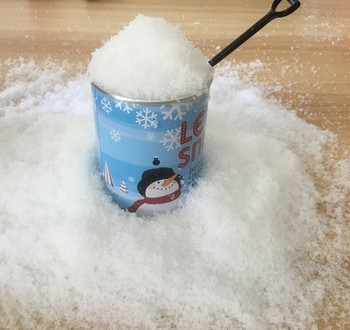 Amazing Insta-Snow  Make 2 Gallons  Instant Snow Powder for Slime Supplies Cloud Slime Charms