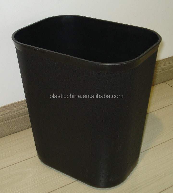 15Liter top open square waste bin for hotel / kitchen