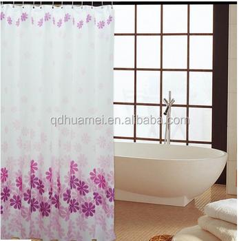 Bathroom Window Curtains,Shower Curtain Hooks - Buy Bathroom ...