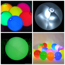 inflatable LED beach Ball for event and party