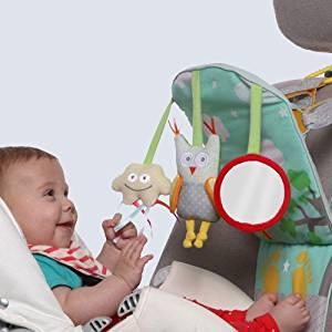 Taf Toys Play and Kick Car Toy, Travel Activity Center. Travel Toys, Travel Baby Toys by Taf Toys