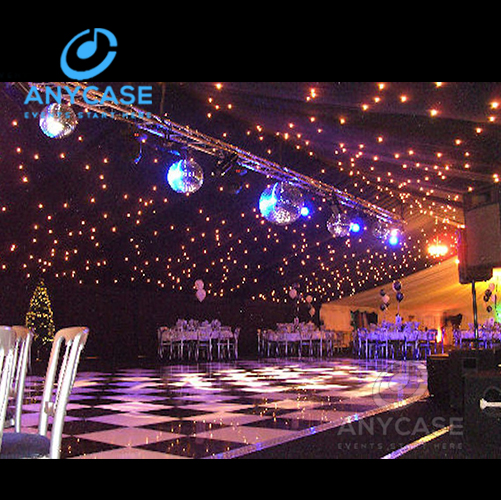 Anycase Flexible Led Curtain Stage Cloth Led Curtain Display