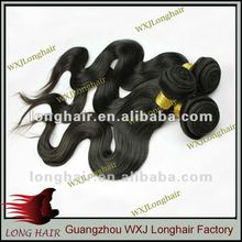 2012 New arrival body wave string hair extension