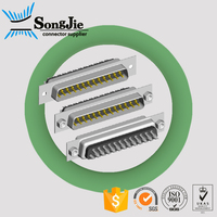 male to motherboard connector d-sub 9 15 25 pins solder type
