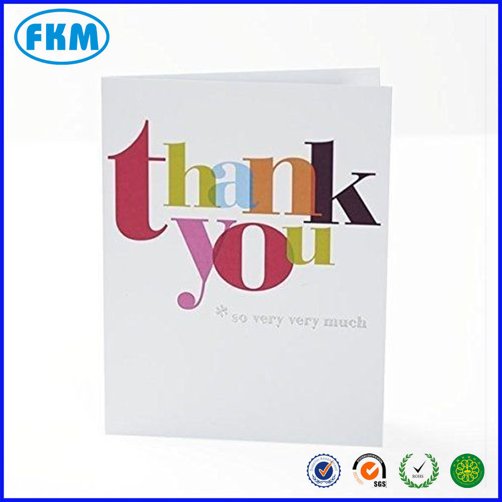 thank you card with envelope new gift