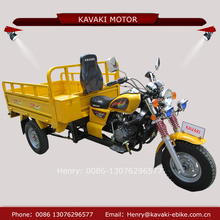 KAVAKI motor factory selling 150cc 300cc multi use three wheeler motorcycle with spare wheel