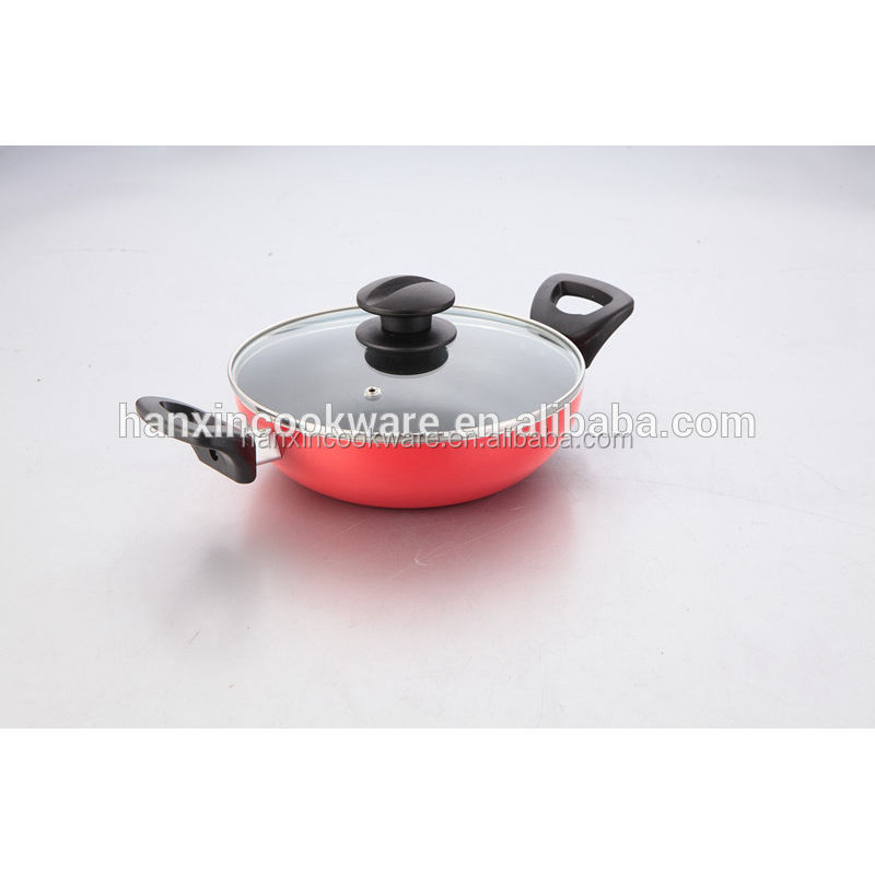 Colorful Natural Wholesale Non Stick Cookware with BSCI SGS LFGB