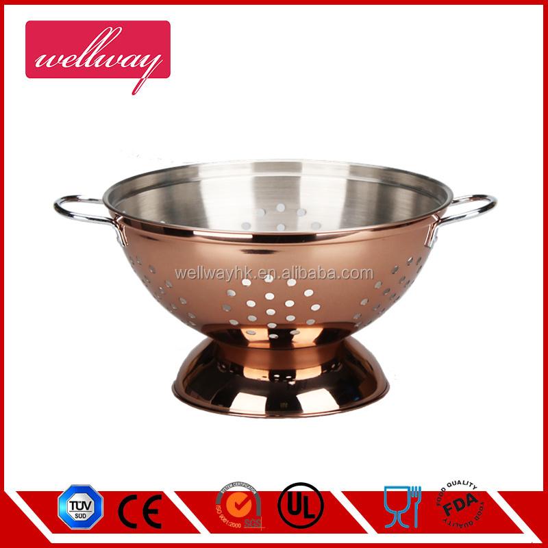 Stainless steel colander tableware beli indonesian set for Beli kitchen set