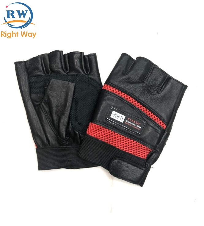Custom Sports Safety Leather Motorcycle Hand Glove Motorcycle Glove