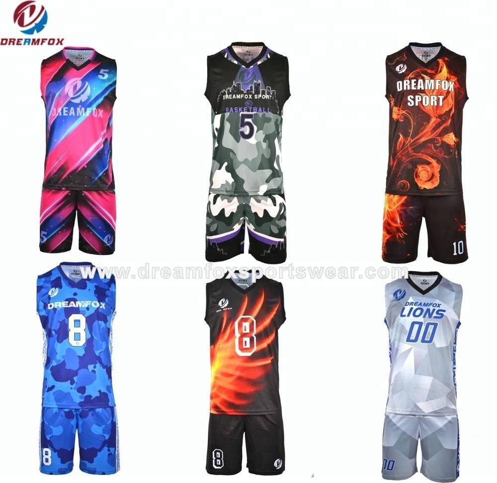 03b3220356f Camo Cheap Latest Basketball Uniforms blank wholesale 2017 latest best  Sublimated reversible Custom Basketball Jersey design
