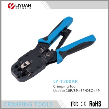 ly t200ar rj11 rj12 rj45 crimping plier cable cutter cable stripper multi hand tools 10p 8p 6p. Black Bedroom Furniture Sets. Home Design Ideas