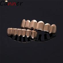 Набор для изготовления зубов CANNER в стиле хип-хоп, Набор для изготовления зубных колпачков с верхним дном, для женщин и мужчин, для гриля в сти...(Китай)