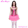 Alibaba Top Selling Pink Sexy Vintage Dress Corset Busk Bustier Crop Top