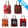 Sublimation Fashion Pattern 100% Cotton Shopping Tote Bag For Halloween