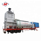 Shengji oilfield natural gas steam powered electric indirect  generator