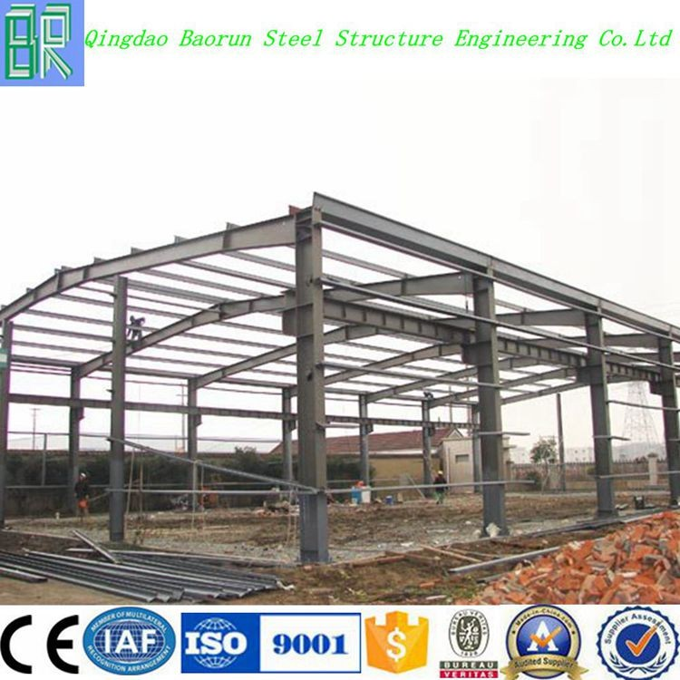 High quality light steel metal frame warehouse building