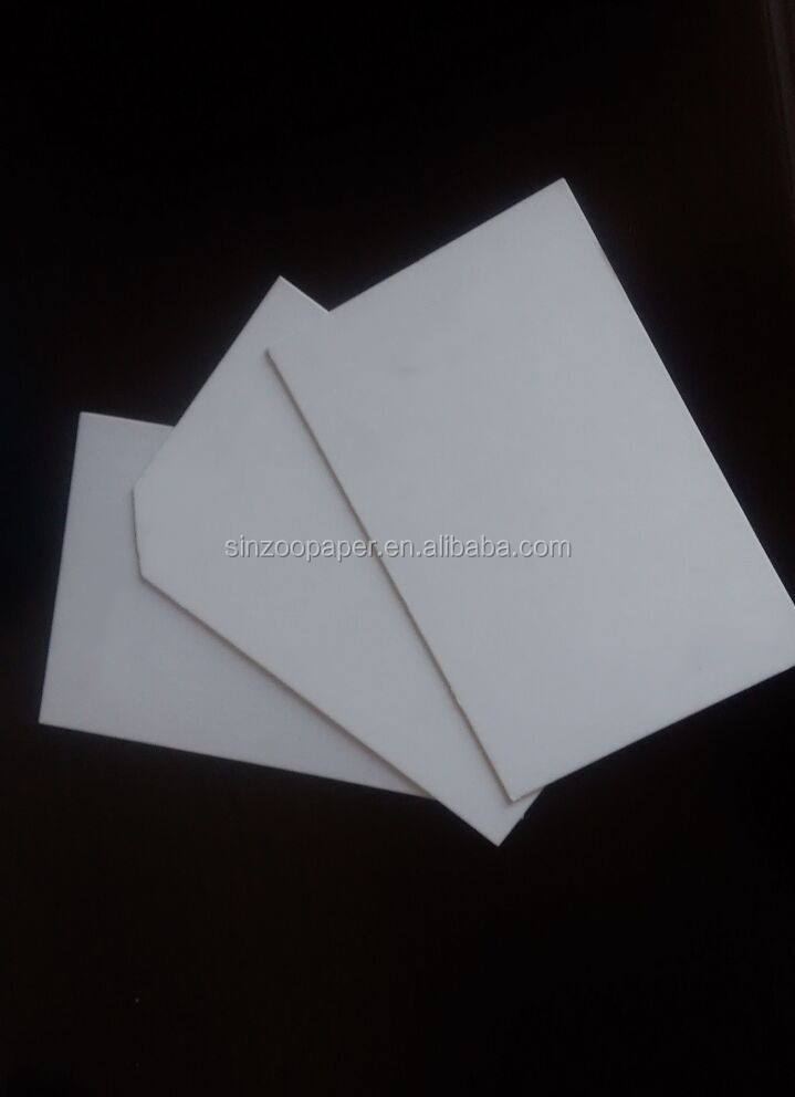 Paper recycling prices duplex board white back for paper lunch box