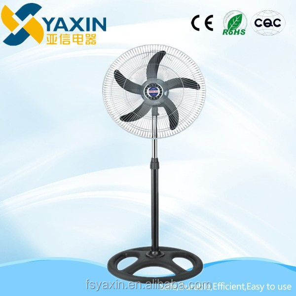 18 inch foshan yaxin powerful 3 in 1 industrial fans electric power pedestal cheap stand fans