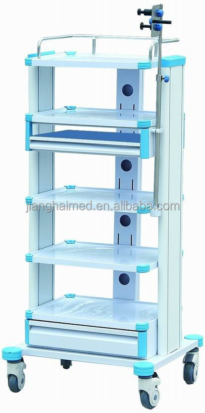 ABS plastic endoscopy cart JH-YQ02