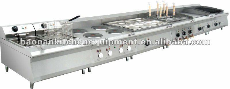 Commercial restaurant cuisine mat riel de cuisine four for Equipement de cuisine commercial