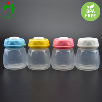 Best Selling Baby Products BPA Free 60ml/2oz Plastic Breast Milk Storage Bottle